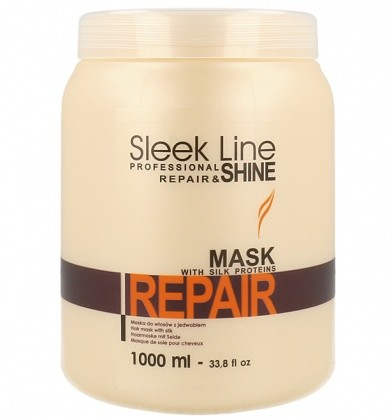 Stapiz Sleek Line Mask Repair Maska Do Włosów Z Jedwabiem 1000ml