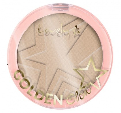 Wibo Lovely Golden Glow New Edition Puder Do Konturowania Twarzy Light Beige