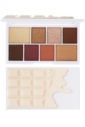 I Heart Revolution Nudes Chocolate Mini Paleta 8 Cieni Do Powiek