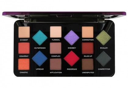 I Heart Revolution Parental Advisory Explicit Content Palette Paleta 15 Cieni Do Powiek