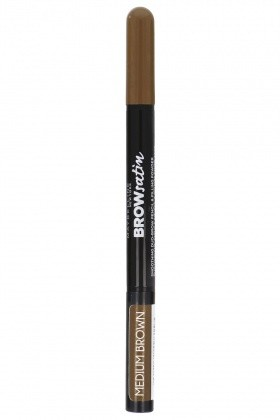 Maybelline Brow Satin Podwójna Kredka Do Brwi Medium Brown