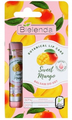 Bielenda Botanical Lip Care Balsam Do Ust Sweet Mango