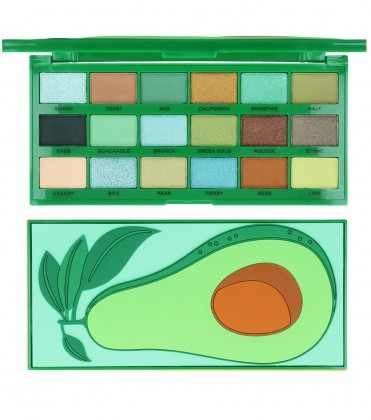 I Heart Revolution Tasty Palette Paleta 18 Cieni Do Powiek Avocado