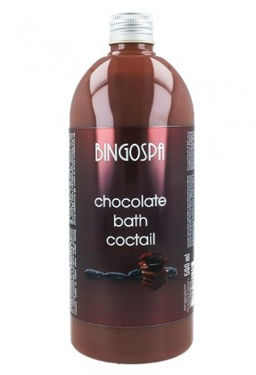 BINGOSPA Chocolate Dark Aroma Bath Cocktail Czekoladowy Koktajl Do Kąpieli 269 500ml