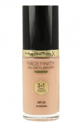 Max Factor Face Finity 3w1 Podkład Baza Korektor 50 Natural